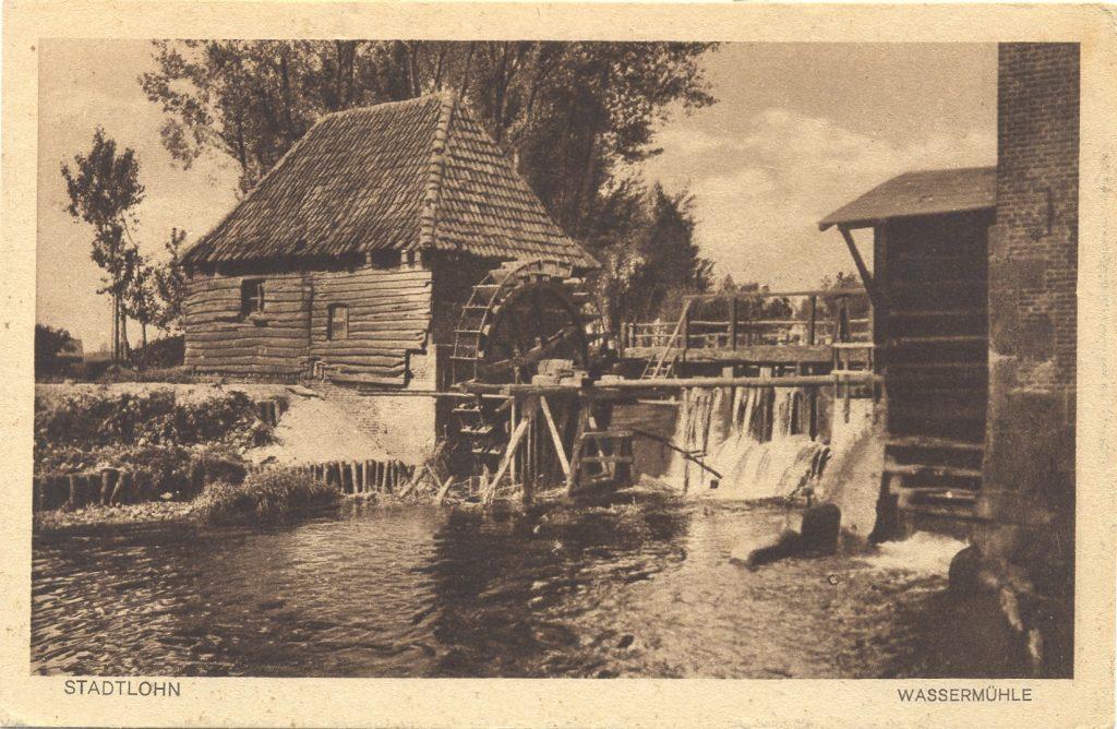 Die alte Ölmühle an der Berkel