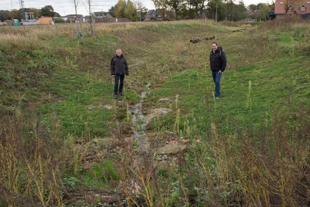 Maßnahme des dezentralen Hochwasserschutzes fertiggestellt