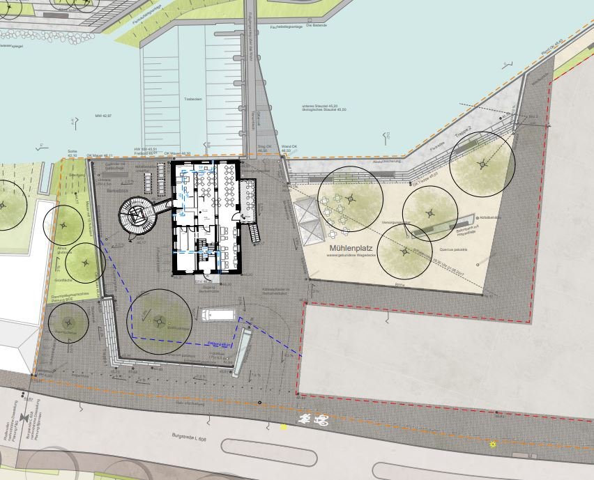 Planung zum Mühlenplatz und Gestaltungshandbuch heute im Umwelt- und Bauausschuss