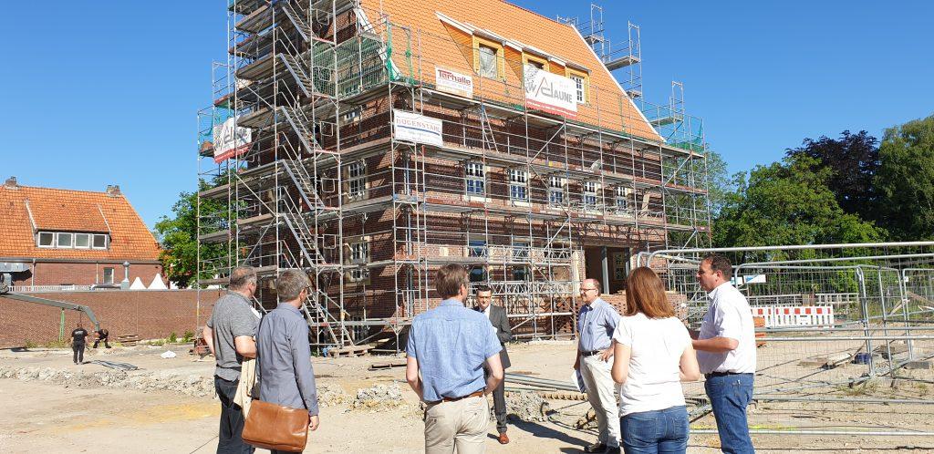 Besuch der Bezirksregierung Münster zu den Projekten der Städtebauförderung